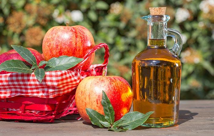 درمان اسهال با سرکه سیب