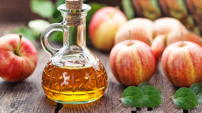 درمان خانگی زگیل واژن با سرکه سیب
