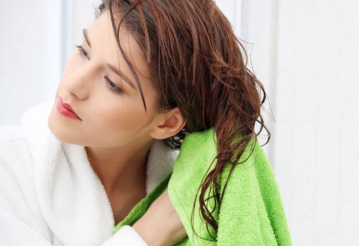 خشک کردن موهای بلند