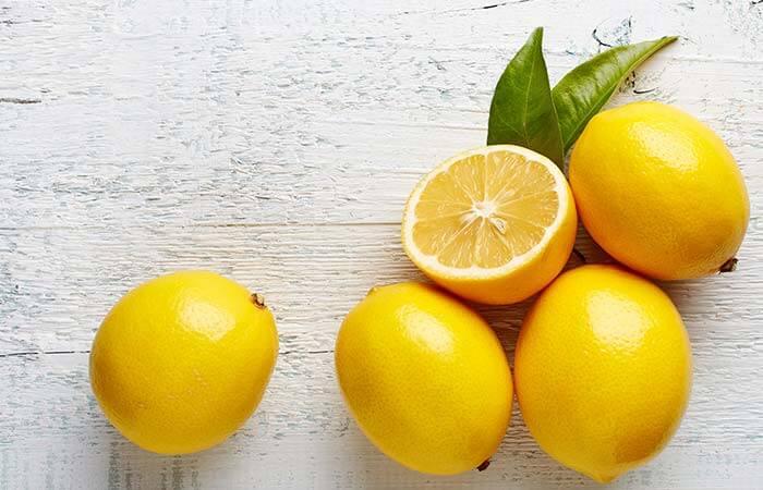 ماسک لیمو و چای سبز