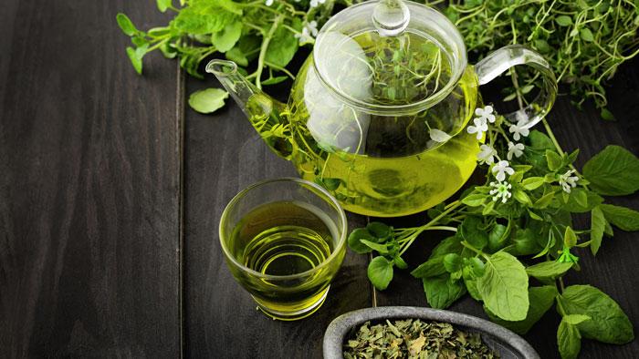 درمان سرفه شدید کودکان با چای سبز
