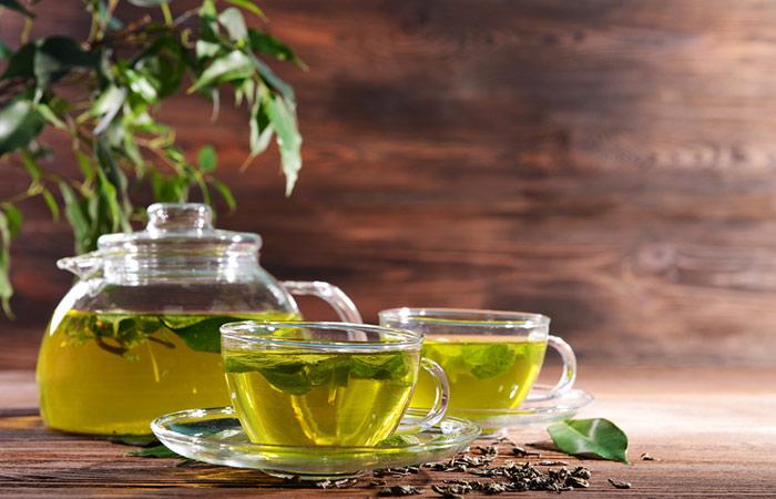 چای سبز برای بوی بد دهان