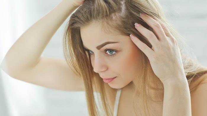 درمان ریزش مو با ویتامین