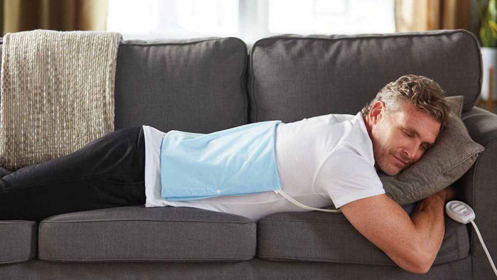 پد گرمایی برای کاهش درد مثانه