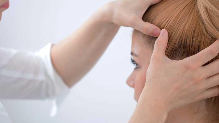 درمان ضربه به سر