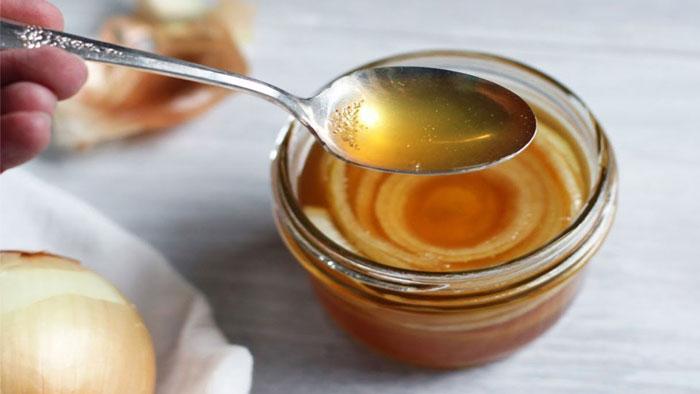 درمان سرفه با عسل و پیاز