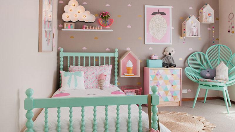 تاثیر تزیین و رنگ اتاق کودک بر شخصیت و رشد فرزندان