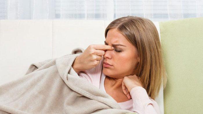 مسکن برای سردرد سینوزیت