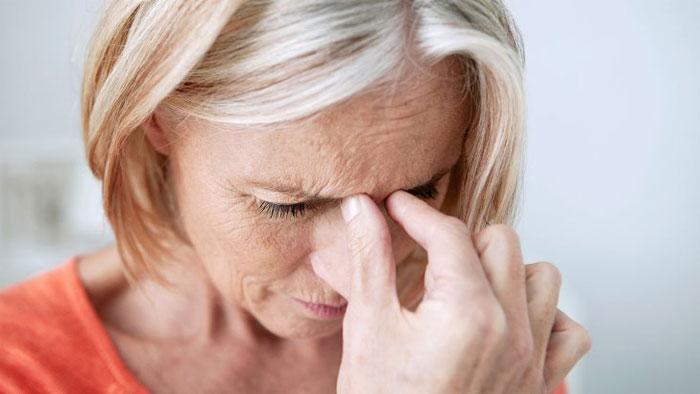 درمان سردرد سینوزیت