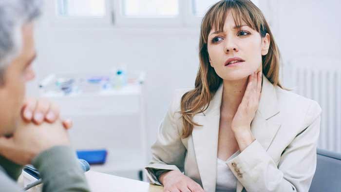 درمان التهاب لوزه ها