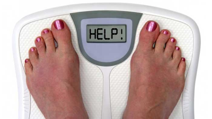 کم نکردن وزن