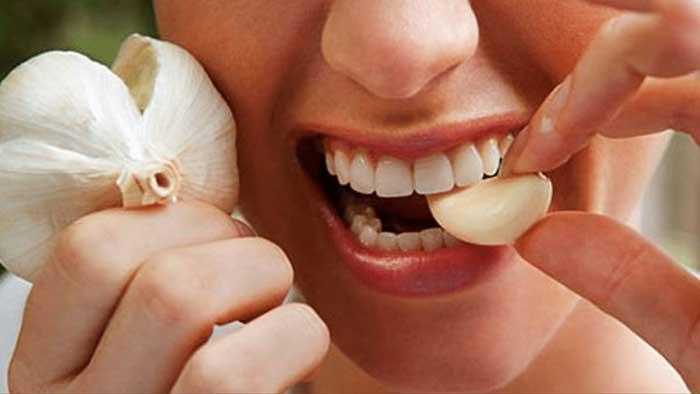 درمان دندان درد با سیر