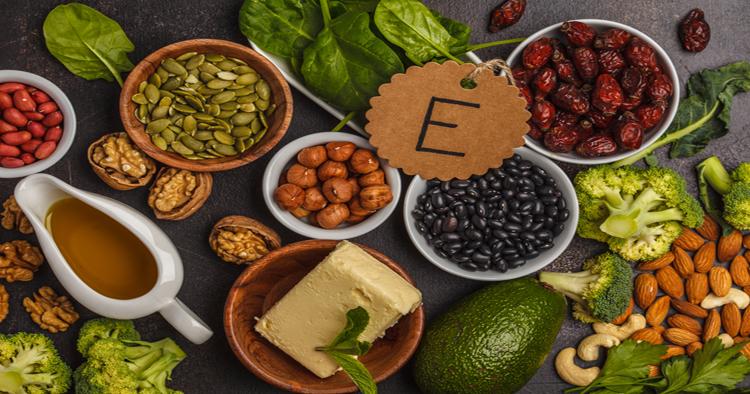 خوراکی های حاوی ویتامین ای