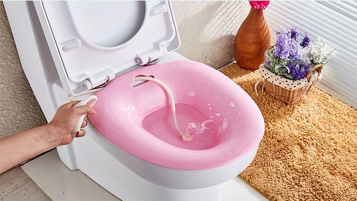 درمان خانگی بواسیر با حمام سیتز