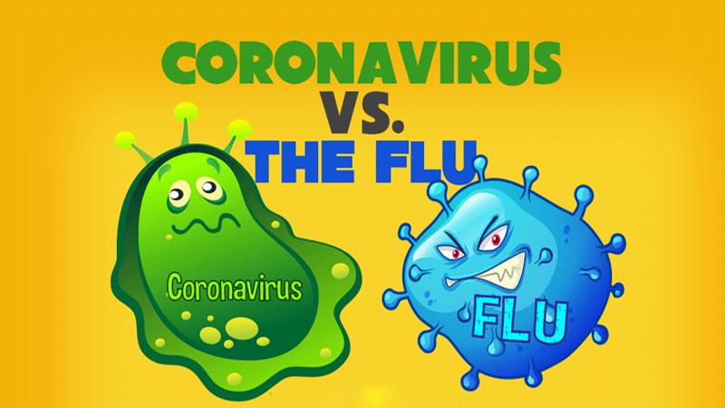 از شباهت و تفاوت آنفلوانزا و کرونا ویروس (کووید – 19) چه میدانید؟!