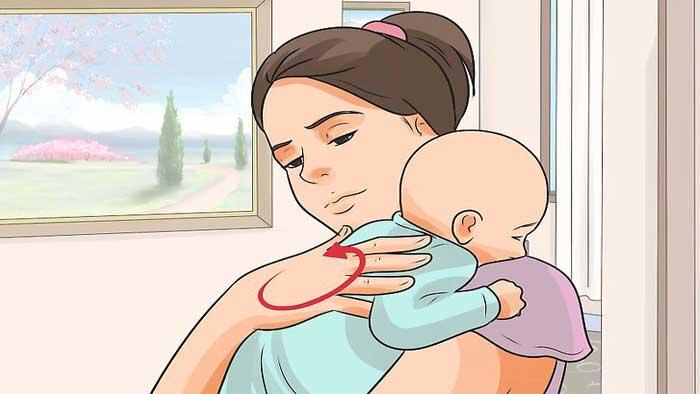 درمان رفلاکس معده در نوزادان
