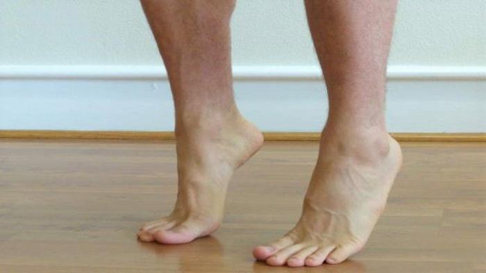 تشخیص کف پای صاف