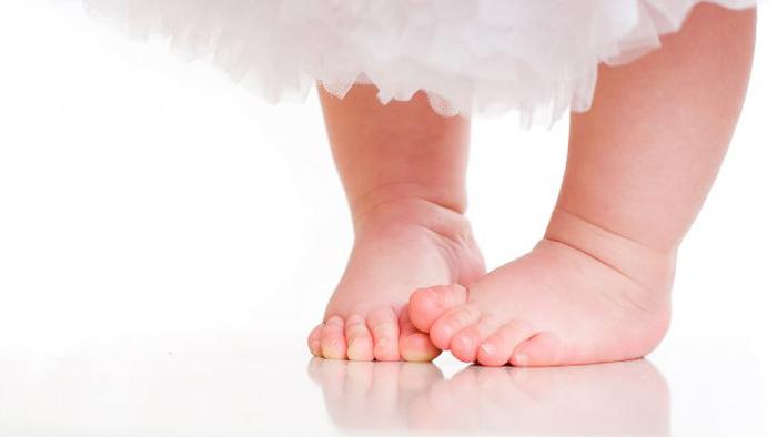 صافی کف پا در کودکان