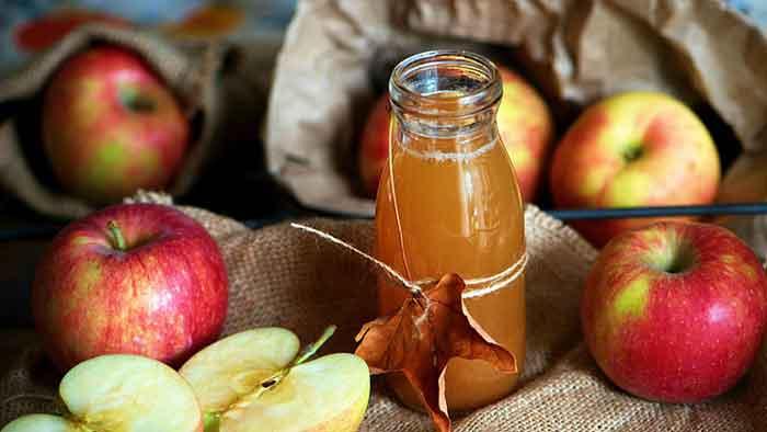 درمان گیاهی شقاق مقعدی با سرکه سیب