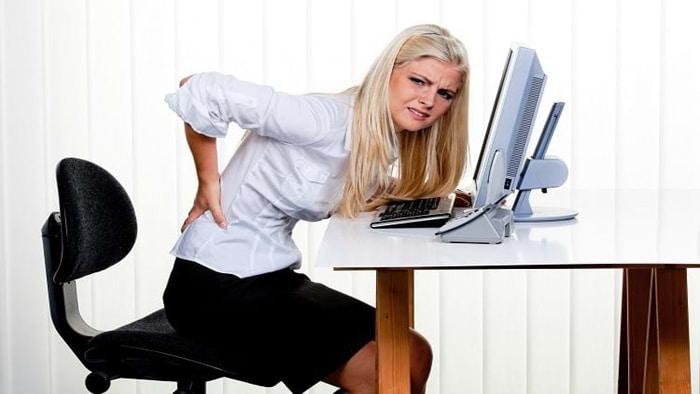 اجتناب از نشستن طولانی مدتبرای پیشگیری از کیست مویی