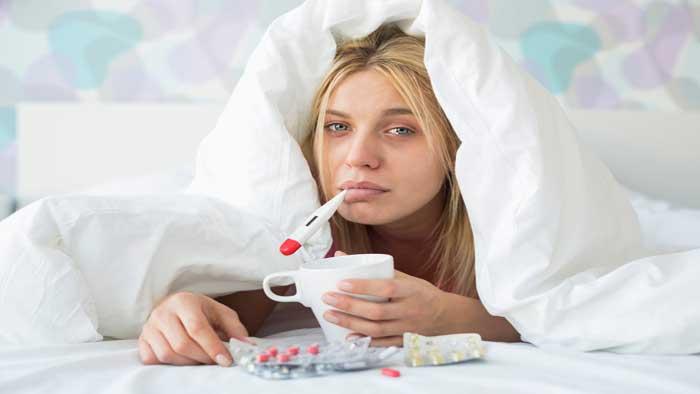 درمان آنفولانزا با دارو